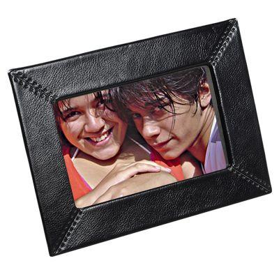 up-couro - Porta retrato personalizado em couro ou sintético. Medidas 15x 20 cm