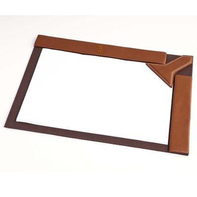 up-couro - Risque rabisque, confeccionado em couro ou sintético. Medidas 36x27 cm