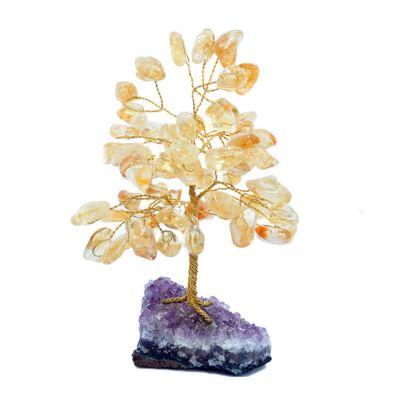 brasil-na-bagagem - Árvore formada por pedras de citrino