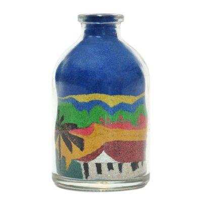 brasil-na-bagagem - Paisagens nordestinas transportadas para garrafas de vidro
