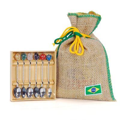 Brasil na Bagagem - Kit café.