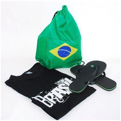 brasil-na-bagagem - Kit praia masculino