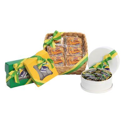 Brasil na Bagagem - Kit composto por 20 bananinhas cristalizadas monguaguá.