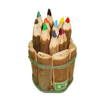 brasil-na-bagagem - Cachepô feito com lascas de eucalipto