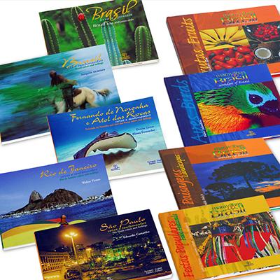 Brasil na Bagagem - Coleções de livros do Brasil.