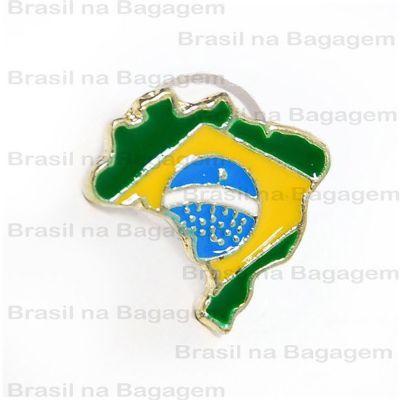 brasil-na-bagagem - Pin de metal