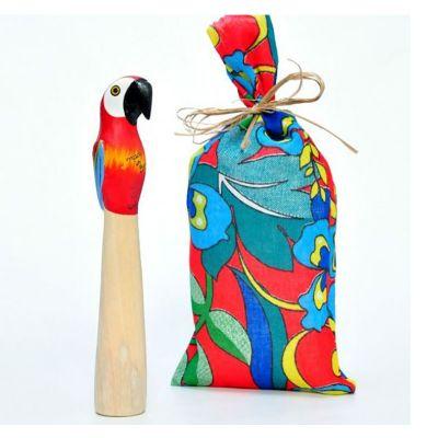 Brasil na Bagagem - Socador feito artesanalmente em madeira