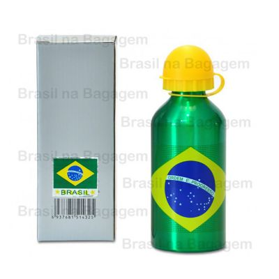 Brasil na Bagagem - Squeeze Brasil em aluminio