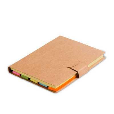 Bloco de notas com sticky notes Personalizado