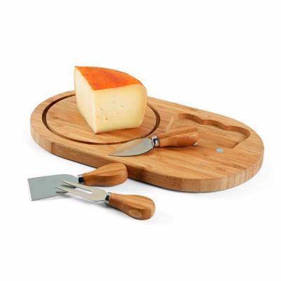 Canarinho Brindes - Kit queijo personalizado