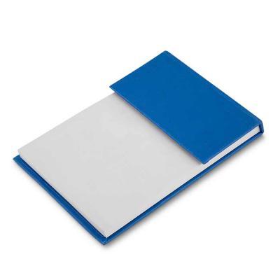 Bloco de anotações ecológico Personalizado com sticky notes. Capa colorida, possui 6 bloquinhos autocolantes coloridos com aproximadamente 20 folhas e... - Canarinho Brindes