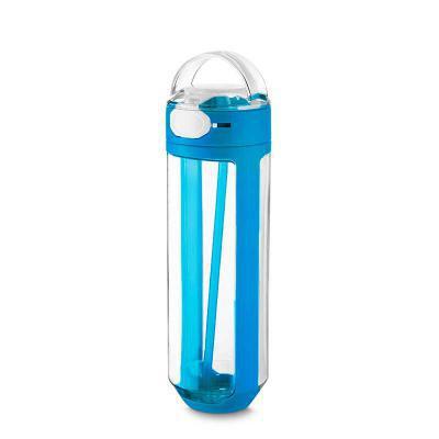 Canarinho Brindes - Garrafa plástica personalizada  770ml com bico e trava de segurança. Garrafa transparente com detalhes coloridos, tampa com alça para transporte, trav...