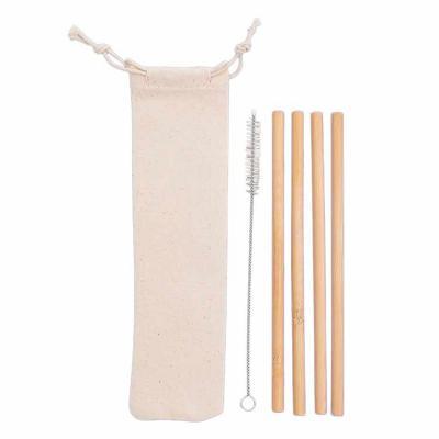 Kit Canudos Personalizados de Bambu com Escova de Limpeza