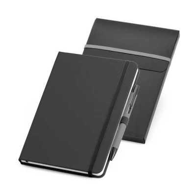 Kit com Caderno e Caneta personalizado