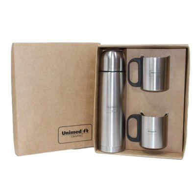 canarinho-brindes - Kit canecas térmica personalizados