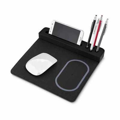 Mouse Pad Carregador Indução personalizado - Canarinho Brindes