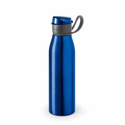 Squeeze Personalizado em Alumínio e AS. Capacidade até 650 ml. Caixa branca vendida opcionalmente. ø66 x 250 mm Personalizada Promocional - Canarinho Brindes