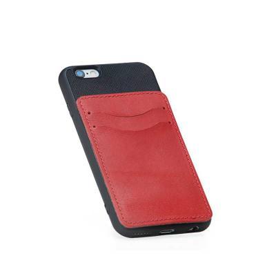 Alvo Couro - Um maravilhoso porta cartão adesivo para capa de celular, fixado na parte traseira com dois suporte para porta cartão, compatível para qualquer tipo d...