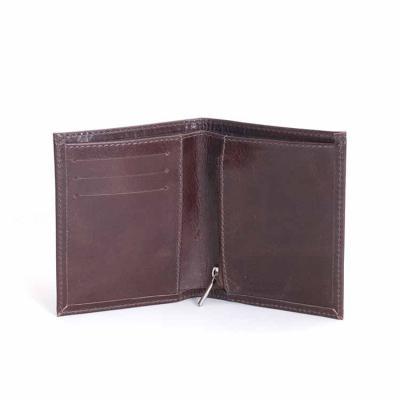 A carteira em couro é linda, além de ser muito espaçosa e prática, pois organiza seu dinheiro em ...