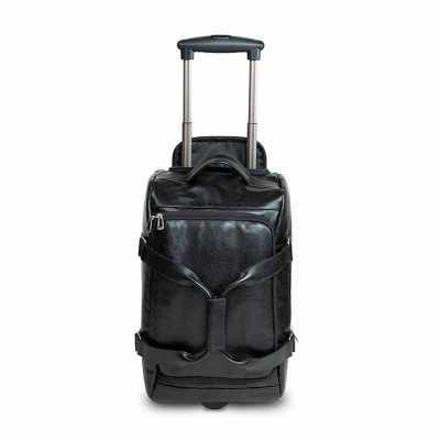 Linda bolsa de viagem com muito espaço interno com capacidade para levar tudo o que lhe é necessário para sua viagem. Fechamento em zíper bolso fronta... - Alvo Couro
