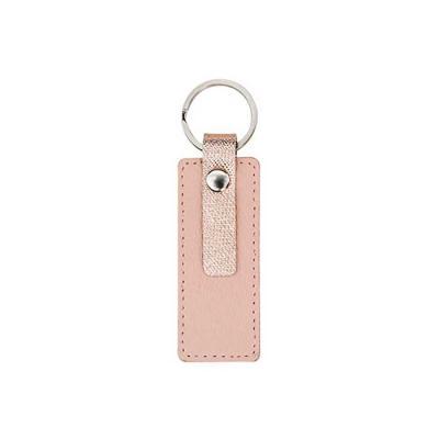 Design moderno e prático, o chaveiro feito em couro com detalhes transfer rose é um excelente pre...