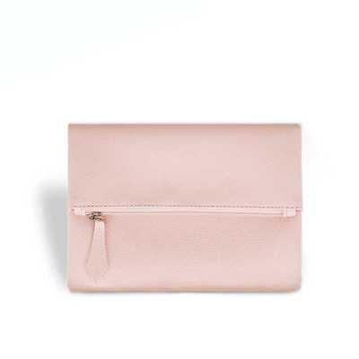 Porta celular / bolsinha feminina fechamento em zíper bolso frontal armazena com segurança os per...