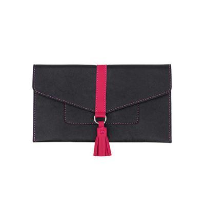 alvo-couros - O porta celular/ carteira possui espaço suficiente para guardar todos os pertences que você precisar em sua rotina e conservá-los com segurança,  com...