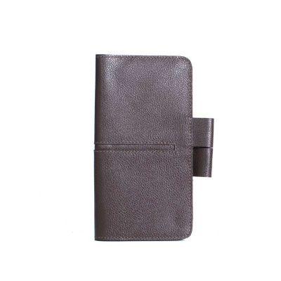Caderneta de bolso com detalhe colorido
