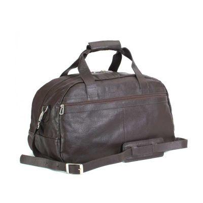 Bolsa de viagem em couro - Alvo Couros
