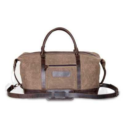 Alvo Couros - 11.3036 - BOLSA DE VIAGEM  Moderno e prático, bolsa de viagem para transporte,possui muito espaço interno , fechamento em zíper, alças de mão e alça d...