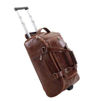 Alvo Couros - Linda bolsa de viagem com muito espaço interno com capacidade para levar tudo o que lhe é necessário para sua viagem. Com bolso lateral, fechamento em...
