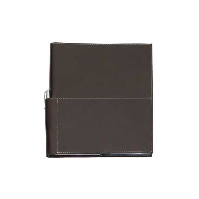 Capa de caderno em couro
