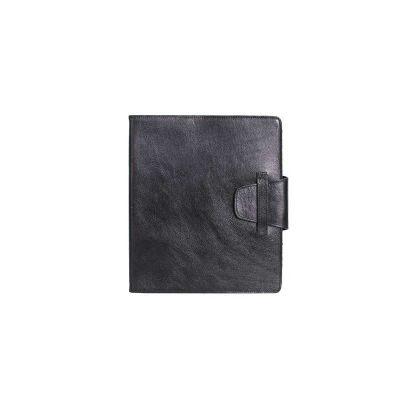 alvo-couros - Caderno de couro sofisticado