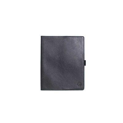 alvo-couro - Caderno de couro unissex