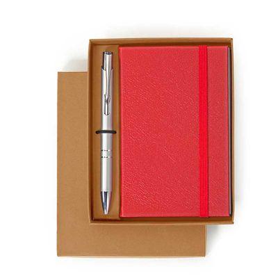 alvo-couros - Kit Notepad de couro