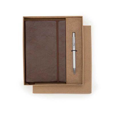 Alvo Couro - Kit notepad de couro