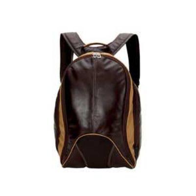 Alvo Couros - Mochila com porta laptop e bolsos laterais. Dimensões: 30 x 14 x 48 cm. A visibilidade que a sua marca merece!