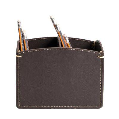 Alvo Couros - Porta canetas de mesa