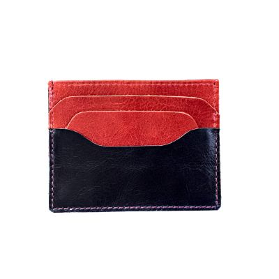 Porta-cartão em couro