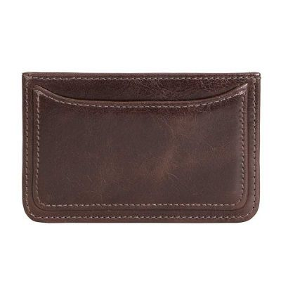 alvo-couros - Porta cartão de couro.