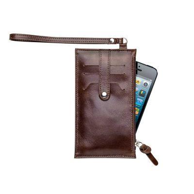alvo-couros - Porta celular de couro