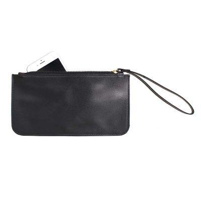 Alvo Couros - O porta celular/ carteira possui o espaço suficiente para guardar todos os pertences que você precisar em sua rotina e conservá-los com segurança com...