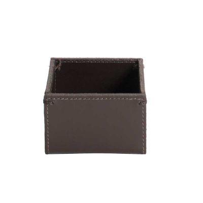 alvo-couros - Porta clips com detalhes de costura na lateral