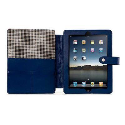 alvo-couros - Porta ipad com regulador de suporte de mesa