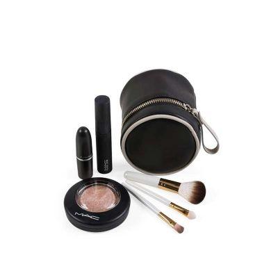 alvo-couro - Porta maquiagem