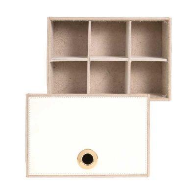 alvo-couro - Caixa porta remédio em couro
