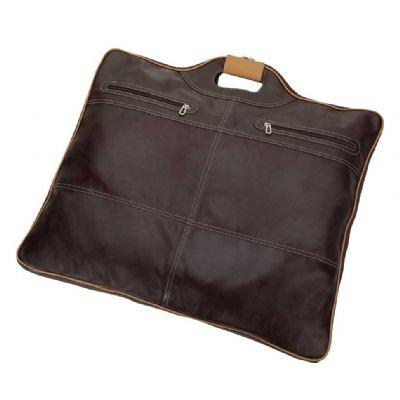 alvo-couros - Porta terno em couro.
