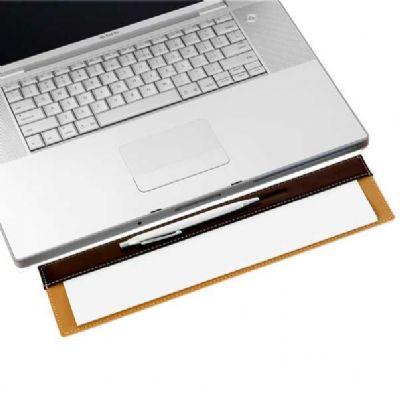 alvo-couros - Risque rabisque de couro para teclado.