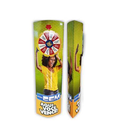 aguia-promocional - Agora você pode, além de utilizar seu totem como sempre, também utilizar em certos momentos como roleta, o disco é removível facilitando o manuseio.