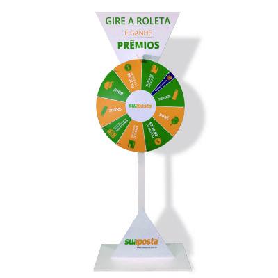 Águia Promocional - Roleta promocional personalizada